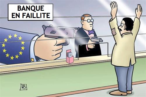 Silence des médias sur des faillites bancaires en Europe (avec à ...