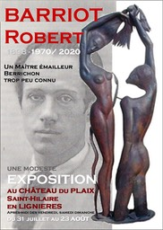 BARRIOT -Affiche Rouge et grise