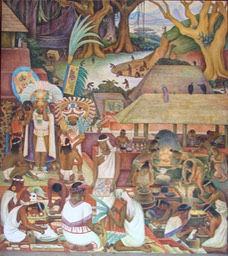 Diego-Rivera-Civilisation-Zapoteque