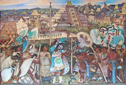 Diego-Rivera-Civilisation-Totonaque