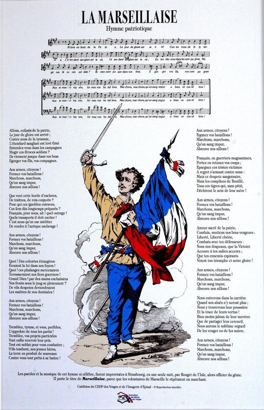Doit on dire un hymne ou une hymne gilblog jean - La table marseillaise chateau gombert ...